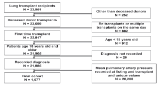 Experimental and clinical tranplantation strengthening reporting of observational studies in epidemiology strobe flow diagram of study patients who were included and excluded from the study ccuart Image collections